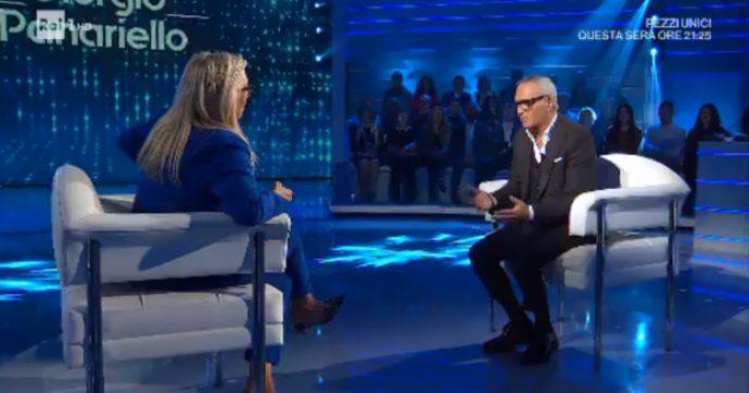 """Domenica In, Giorgio Panariello in lacrime: """"Non ho mai conosciuto mio padre. Mia madre? La vedevo solo nelle grandi occasioni"""""""