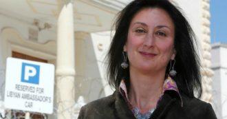 Daphne Caruana Galizia, arrestato a Malta presunto intermediario tra mandanti e killer