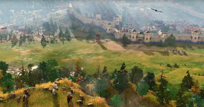 Age of Empires IV, un primo scorcio di gameplay mostrato in un nuovo trailer