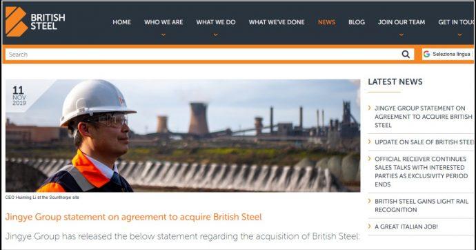 Acciaio, la parabola di British Steel: dalla privatizzazione alla vendita al gruppo cinese Jingye. Tante similitudini con l'ex Ilva