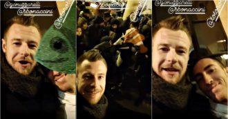 """Modena, al flash mob delle """"sardine"""" contro Salvini c'è anche il pallavolista Zaytsev. Il video pubblicato sui social"""