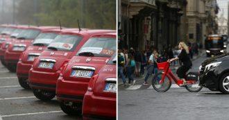 Sharing mobility – Auto, bici e scooter in condivisione? Funziona dove mezzi pubblici sono efficienti. Ma norme confuse: il caso monopattini