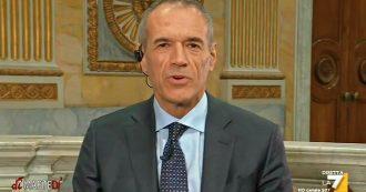 """Fondo salva-Stati, Cottarelli a La7: """"Pericoloso per l'Italia, il rischio è che gli investitori scappino e che causi una crisi"""""""