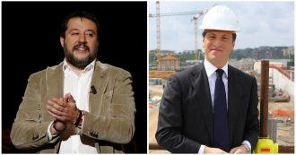 """Lega, l'Espresso: """"Salvini, Centemero e Giorgetti a cena da Parnasi"""". Il tesoriere al costruttore: """"Per l'Iban facciamo de visu?"""""""