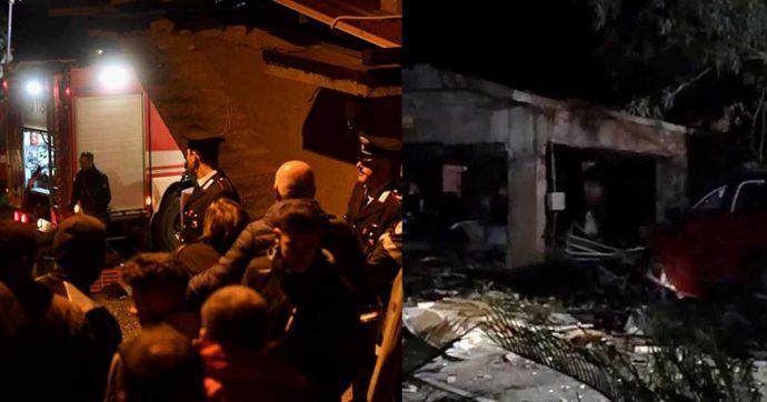 Barcellona Pozzo di Gotto, esplosione in un deposito di fuochi d'artificio: cinque morti e due feriti