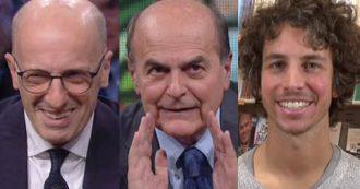 """Emilia Romagna e 'sardine', Bersani a Dimartedì: """"Come diceva Lucio Dalla, a modo mio quel che sono l'ho voluto io"""". E cita Basaglia"""