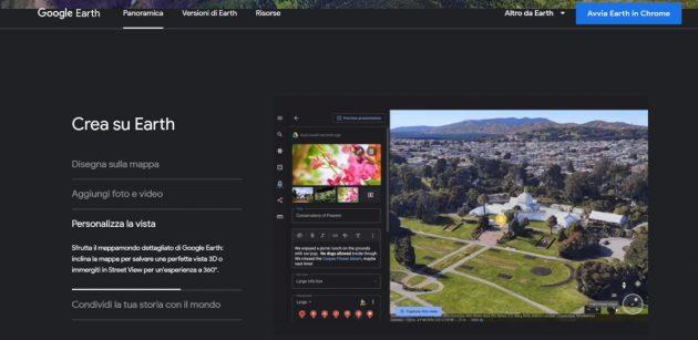 Google Earth adesso ti consente di creare storie di viaggi