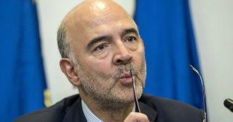 """Fondo salva-Stati, Moscovici: """"Contiene anche la rete di sicurezza per le banche"""". Salvini: """"Quelle francesi e tedesche, per noi disastro"""""""