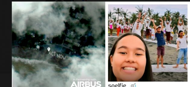 Fatevi un selfie dal satellite con Spelfie, l'app per gli ev