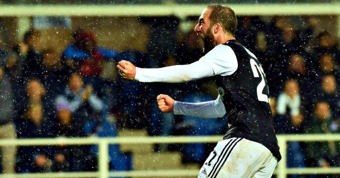 Atalanta-Juventus, a Gosens rispondono due volte Higuain e Dybala: a Bergamo finisce 1-3