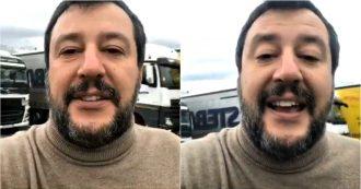 """M5s, Salvini: """"Surreale il video di Grillo con Di Maio. Anche gli elettori del Movimento lo stanno spernacchiando"""""""