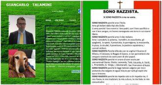 """Sardine, Talamini Bisi: """"Sì, sono razzista e me ne vanto"""". Chi è il prof che attacca gli studenti anti-Salvini"""
