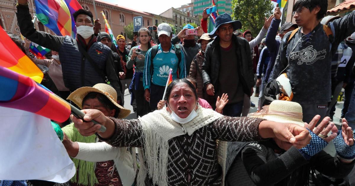 Morales ha scontato l'assenza delle forze armate e del partito