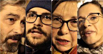 """Reggio Emilia, Sardine in piazza: """"Non votavo, ma ora non posso stare a casa"""", """"Politici con la maiuscola? Bonaccini. Ma Pd non ci sfrutti"""""""