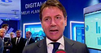 """Maltempo, Conte: """"Stanziati 11 miliardi di euro per dissesto idrogeologico, bisogna accelerare per far partire i cantieri"""""""