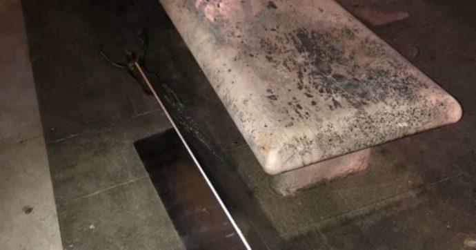 Violenza sulle donne, danneggiata per la sesta volta la statua in ricordo di Cristina Biagi, uccisa dal marito nel 2013