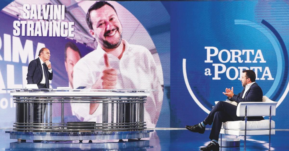 Salvini, cento ore in tv: più del premier e il triplo di M5S e Pd