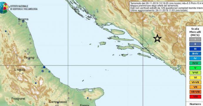 Terremoto Balcani, dopo l'Albania scosse anche in Bosnia-Erzegovina (5.4) e Grecia (4.6)