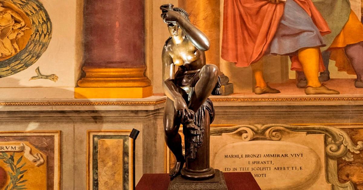 Uffizi, lo strano caso della Venere (falsa?) del Giambologna