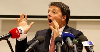 """Fondazioni, Renzi contro rinvio della equiparazione con i partiti. Pd fa dietrofront: """"Si torna in commissione e cambiamo"""""""