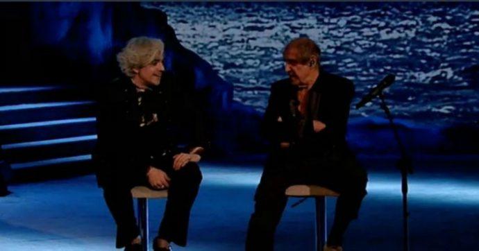 """Adrian, Morgan ad Adriano Celentano: """"Mio padre mi avvisò del suo suicidio con una tua canzone. Un po' ti assomigliava"""""""