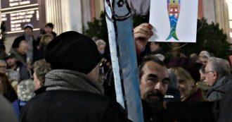 """Genova, 8mila Sardine in piazza: """"Dimostrazione che c'è spazio per un politica diversa, senza paura e rancori"""""""