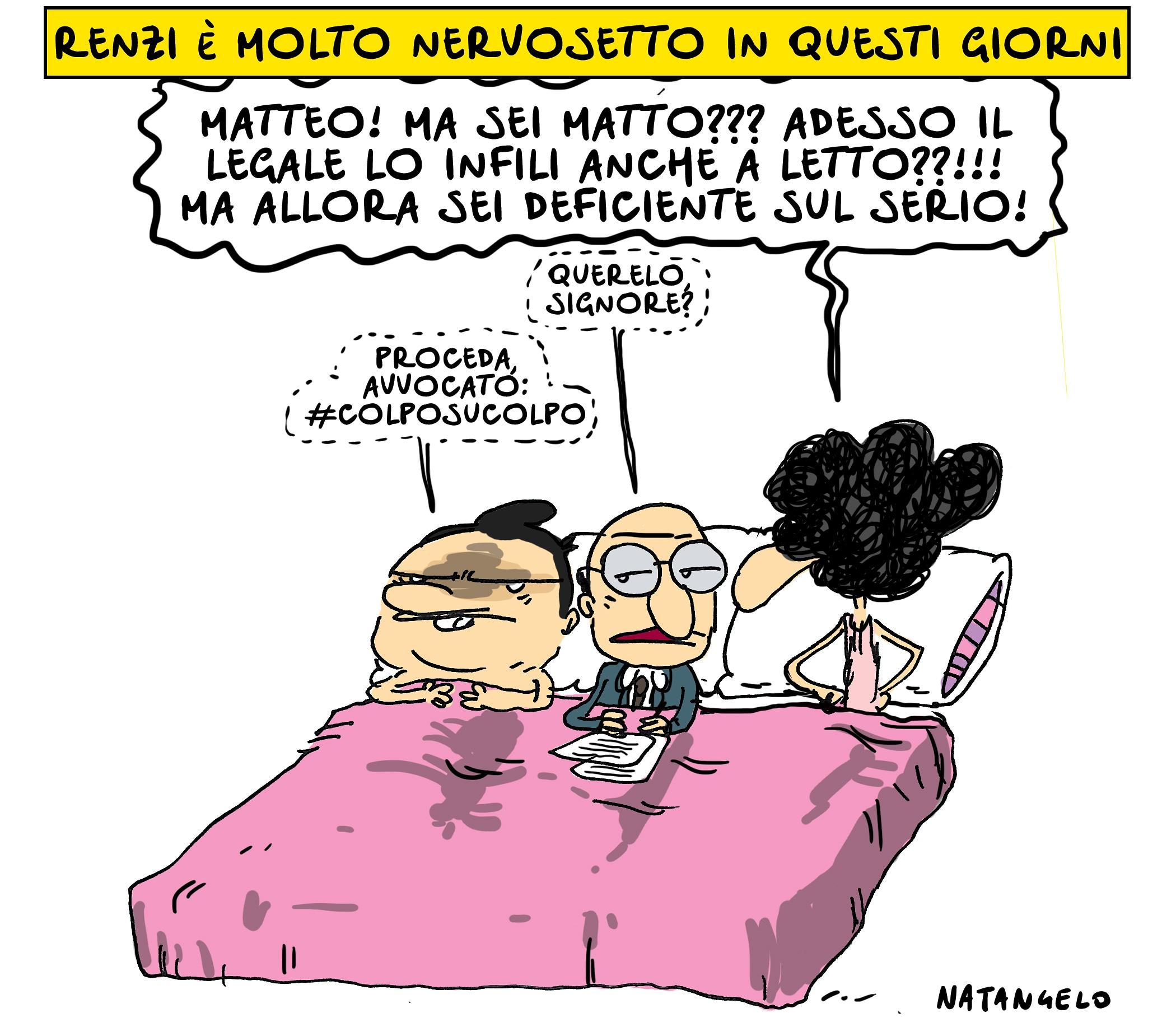 Renzi è nervoso