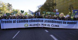 Clima, al via Conferenza mondiale di Madrid. Obiettivo: implementare i piani nazionali sulle emissioni (che sono già insufficienti)