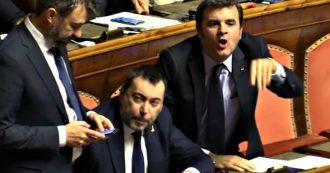 """Fondo salva-Stati, caos in Senato: Casellati richiama Salvini. Il leghista Centinaio a parlamentare della maggioranza: """"Sei un cogl…."""""""