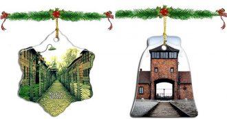 """Amazon, il vendita sul sito ci sono anche decorazioni di Natale a tema Auschwitz: ritirate. Il Memoriale: """"Merce inquietante"""""""