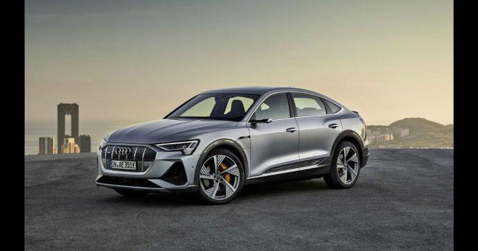 Audi, 37 miliardi per l'elettrificazione. Intanto partono le vendite della e-tron Sportback