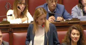 """Fondo salva-Stati, Meloni attacca Conte: """"Ha letto 40 minuti di resoconti parlamentari per smentire il suo governo"""""""