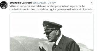 """Siena, professore ordinario di filosofia twitta frase pro Hitler. Il rettore: """"Licenziamento"""". Governatore Rossi: """"Lo denuncio per apologia"""""""