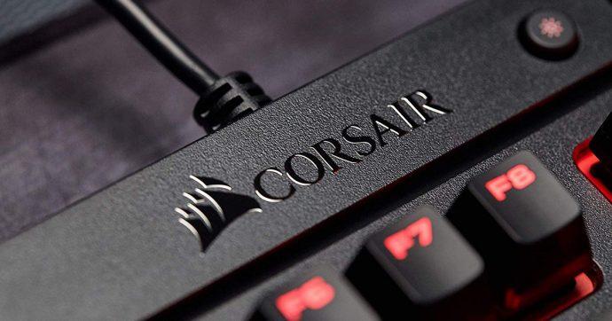 Corsair K63, tastiera con tasti meccanici per gaming e produttività in sconto su Amazon