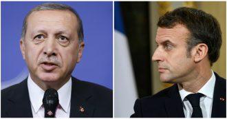 """Nato, Macron attacca di nuovo Erdoğan: """"Turchia a volte lavora con gli alleati dell'Isis"""". Ma Trump difende il presidente turco"""