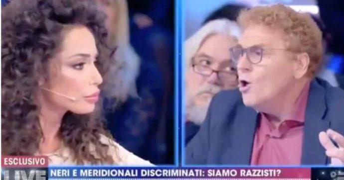 """Live Non è la d'Urso, scontro tra Fabrizio Bracconeri e Raffaella Fico: """"La mamma di Zaniolo si può insultare ma se si parla di Balotelli è razzismo?"""""""