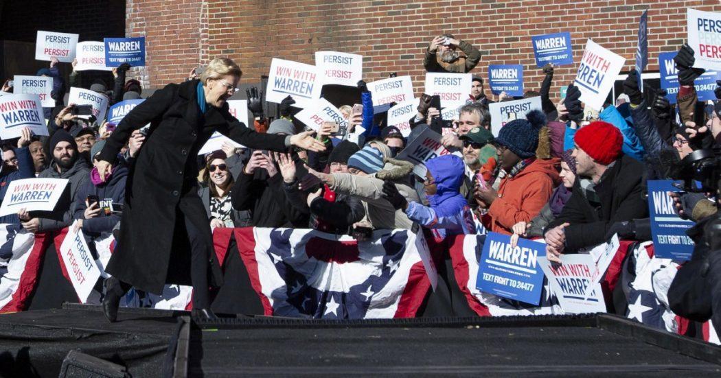"""Un giorno da Warren """"Votate per me e farò piangere i miliardari"""""""