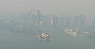 Incendi in Australia, Sydney coperta da nube tossica da settimane: lo skyline della città è irriconoscibile