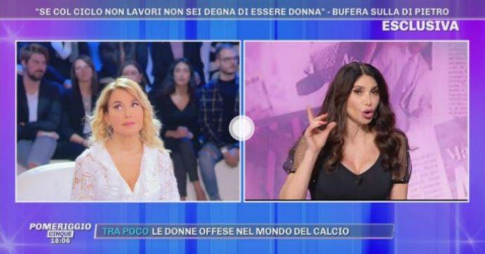 """Carmen Di Pietro e Karina Cascella, scontro sugli insulti alla donna con l'endometriosi: """"È colpa della tua ignoranza, sei una capra"""""""