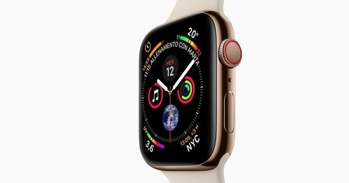 Apple Watch Series 4, smartwatch con funzioni telefoniche complete in sconto su Amazon