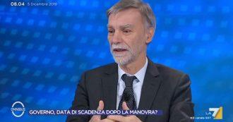 """Prescrizione, Delrio: """"Capisco Di Maio ma no a bandierine e ricatti, c'è un tavolo aperto. Pd non resta al governo a tutti i costi"""""""
