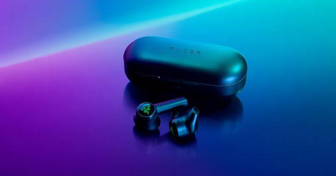 Razer Hammerhead TW, auricolari true wireless per il gaming