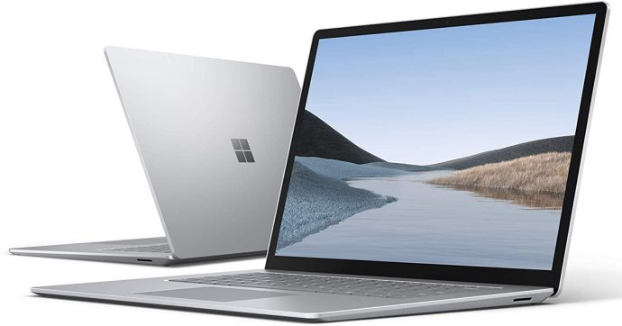 Microsoft Surface Laptop 3, portatile 15 pollici sottile e leggero in offerta su Amazon