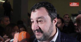 """Salvini: """"I magistrati? Alcuni fanno politica"""". E sulla richiesta di processo per Centemero per finanziamento illecito: """"Sono tranquillo"""""""