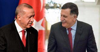 """Libia, anche Sarraj ufficializza la propria presenza a Berlino. Erdogan: """"Inviamo truppe nel Paese"""". Conte: """"Non lo possiamo accettare"""""""