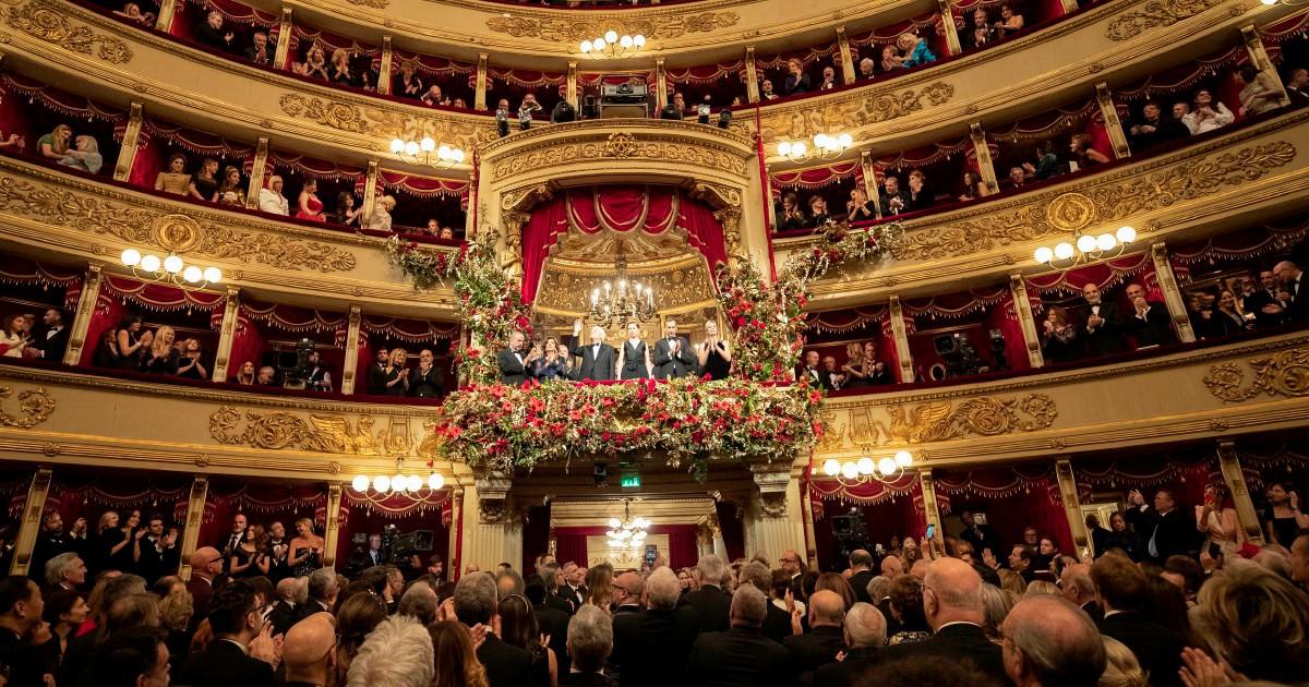 Prima sottotono: applausi a Segre, Mattarella e Puccini