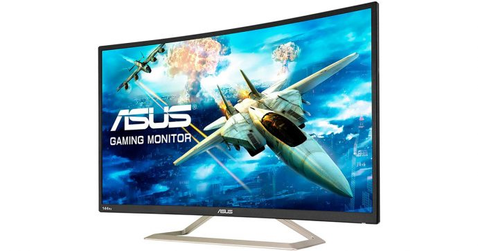 ASUS VA326HR, gaming monitor Full HD da 31 pollici, su Amazon con sconto del 37%