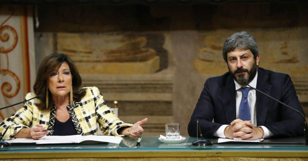 Manovra, presidenti delle Camere: 'Preoccupati per tempi stretti dibattito'. Fico: 'Intollerabile. Serve cambio anche per troppe fiducie'
