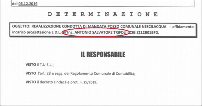 Riace, il sindaco Trifoli dà l'incarico al cugino: lavoro da 15mila euro senza gara d'appalto