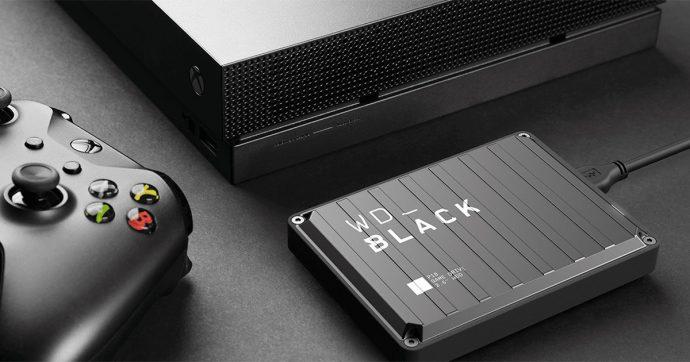 WD_Black P10, l'hard disk esterno per i videogamer che vogliono più spazio per i propri giochi